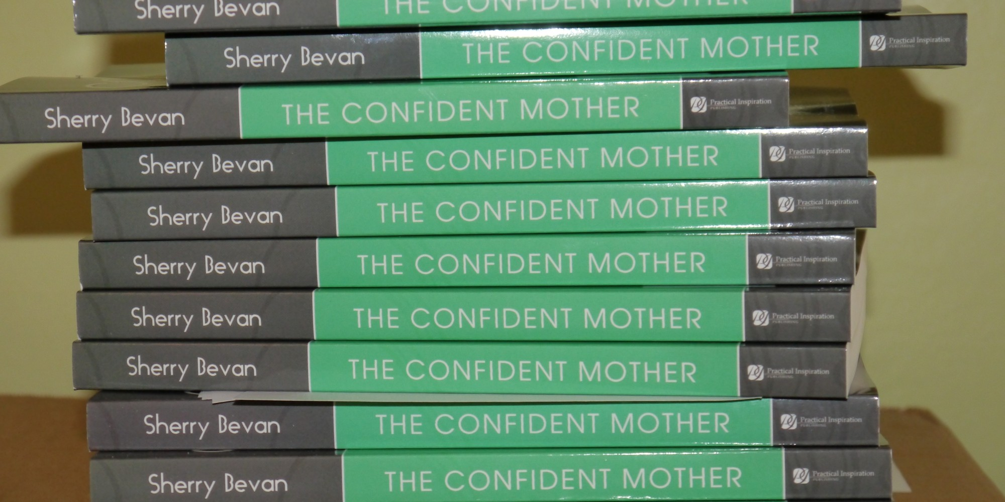 Discover the secrets of The Confident Mother in Sherry's book