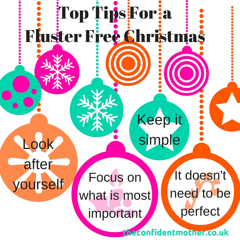 Top Tips For a Fluster Free Christmas