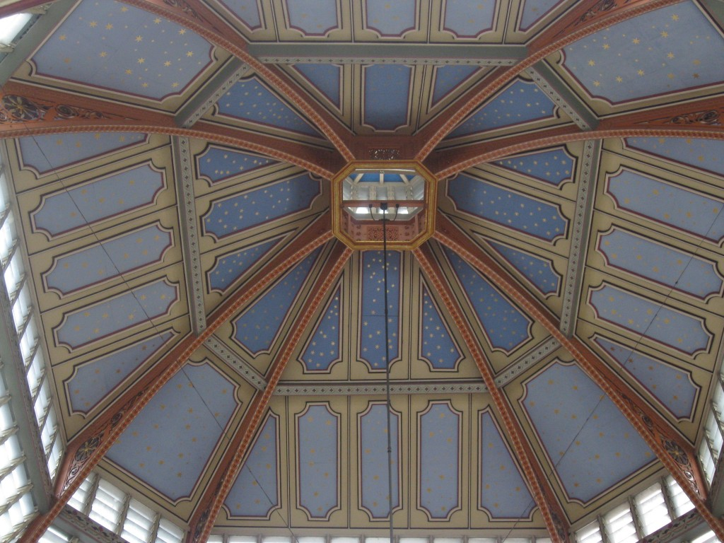 Looking up - Leadenhall Market