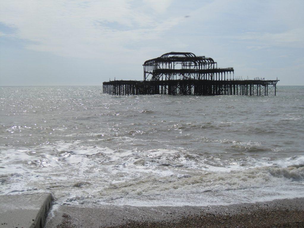 Brighton on a sunny morning
