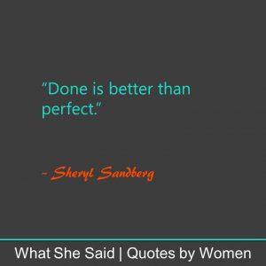 #WhatSheSaid Inner Confidence: Sheryl Sandberg