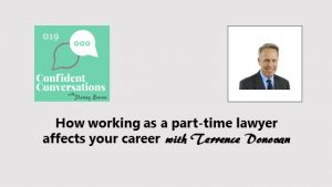 How working as a part-time lawyer affects your career