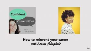 How to reinvent your career CC042