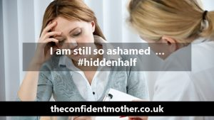 I am still so ashamed … #hiddenhalf