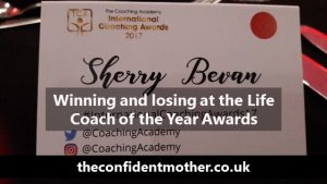 Life Coach of the Year … winning and losing