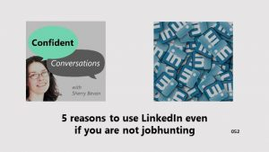 5 reasons for ambitious women to use LinkedIn when you are not jobhunting CC052