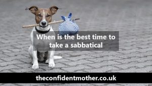 When is the best time to take a sabbatical