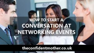How to start a conversation at networking events