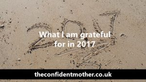 What I am grateful for in 2017